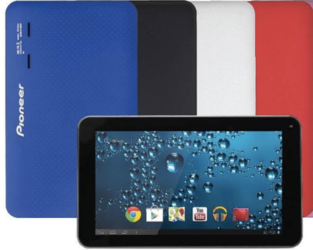 pioneer R1 tablet colours