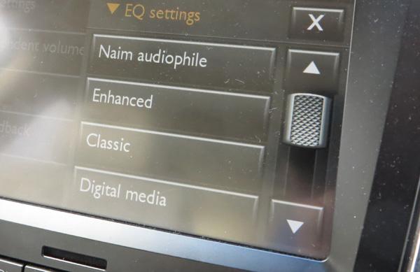 NfB Naim audiophile mode
