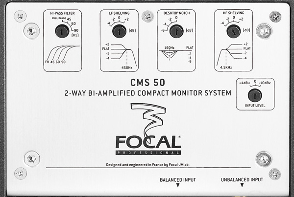 focal cms50_controls