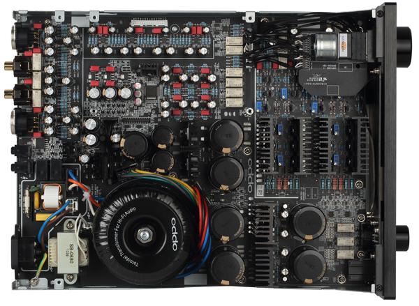 Oppo HA-1 inside