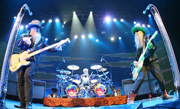 zz top live in texas