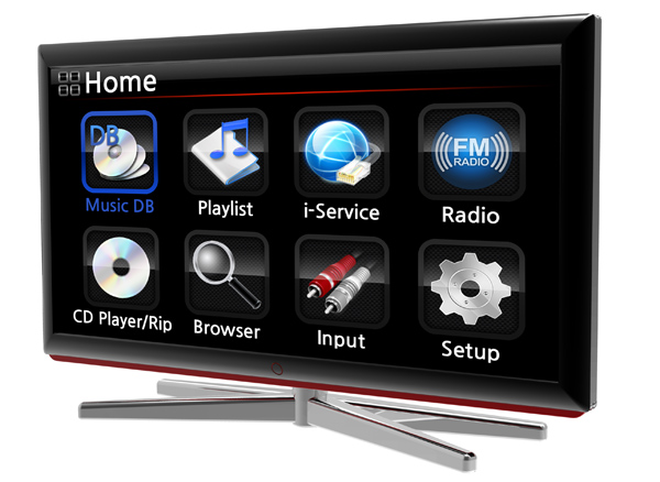 Cocktail Audio X30 TV display