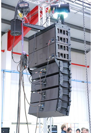 small line array