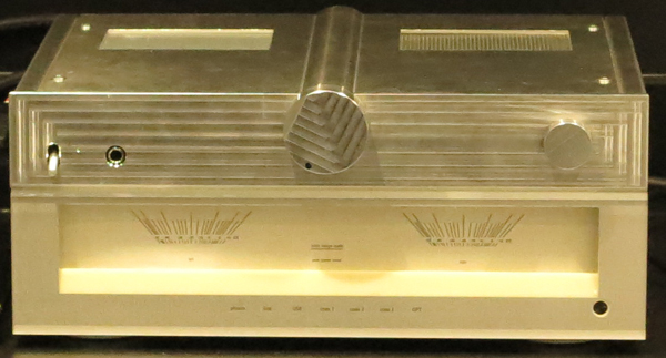 technics integrated amp prototype June 2014