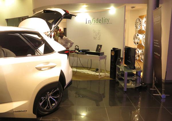 Infidelity at Lexus Twickenham