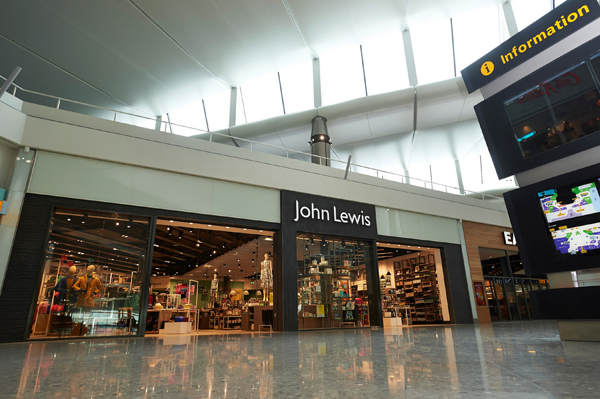 John Lewis Heathrow T2