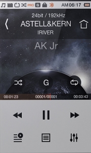 Astell&Kern AK Jr_display