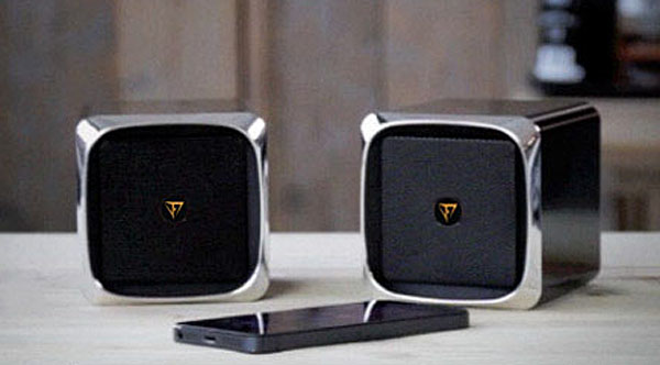 frankenspiel fs x in single or dual mode it s so much more than just a bluetooth speaker. Black Bedroom Furniture Sets. Home Design Ideas