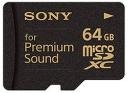 sony premium sound card
