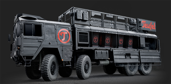 teufel thundertruck side on